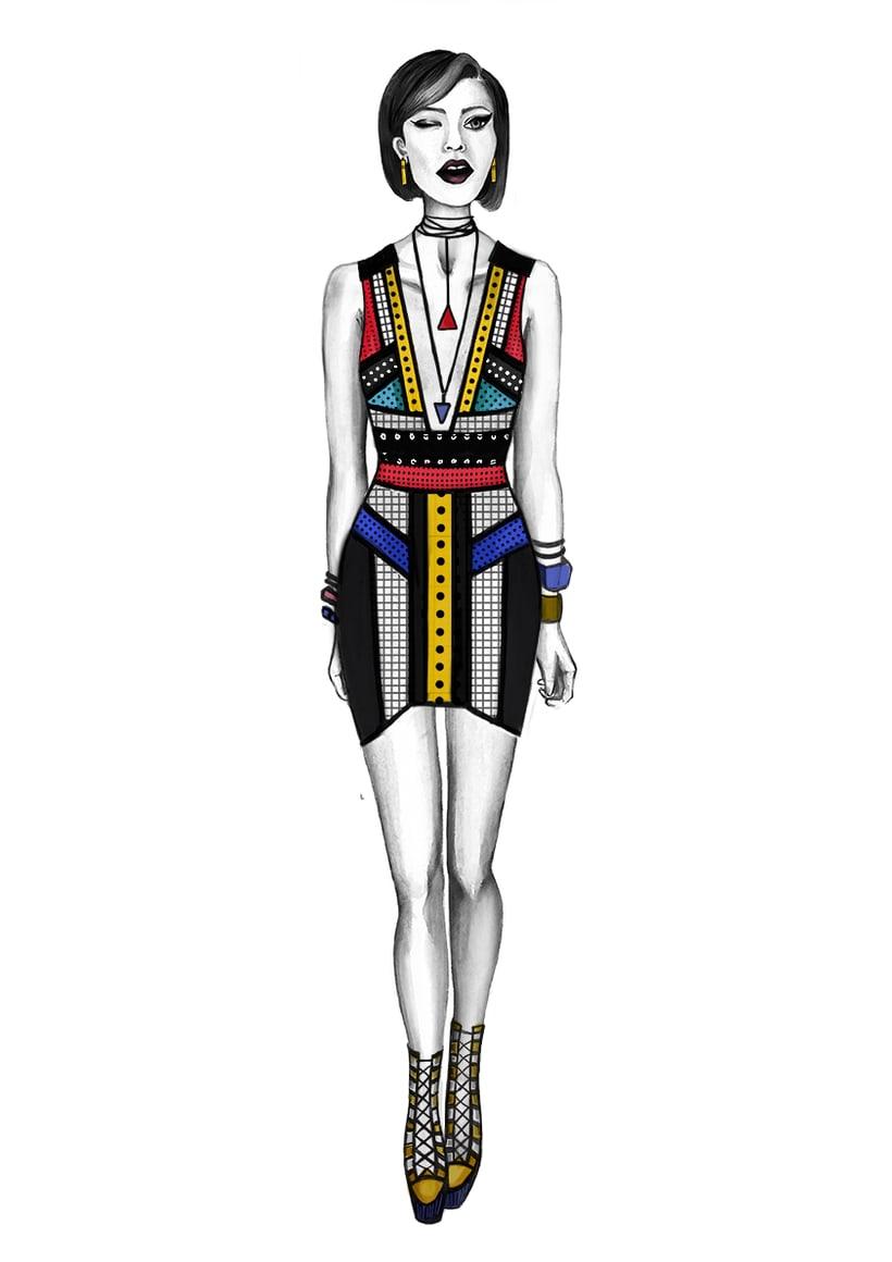 Diseño de Moda- Colección Cápsula Pop Art 12