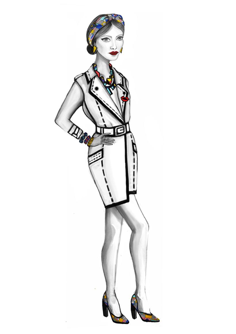 Diseño de Moda- Colección Cápsula Pop Art 13
