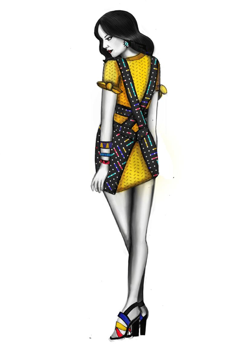 Diseño de Moda- Colección Cápsula Pop Art 14