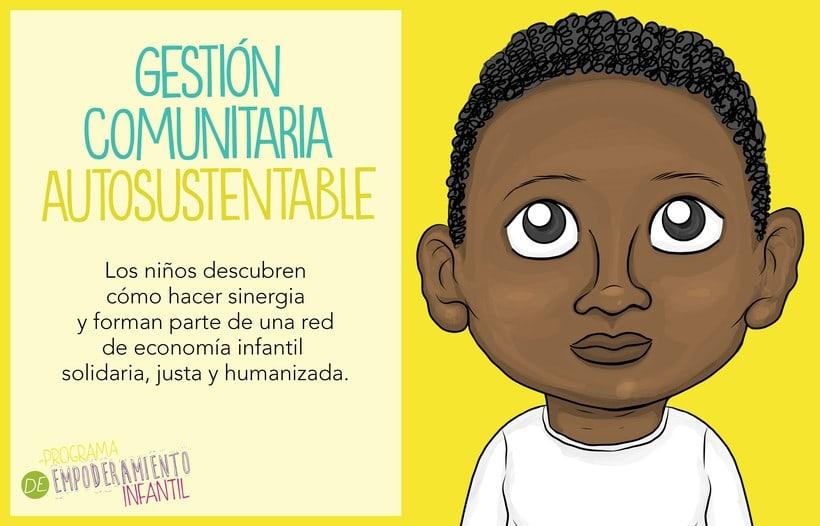 Programa de Empoderamiento Infantil / Diseño para sitio web Programa #PazAporte Guerrero 1