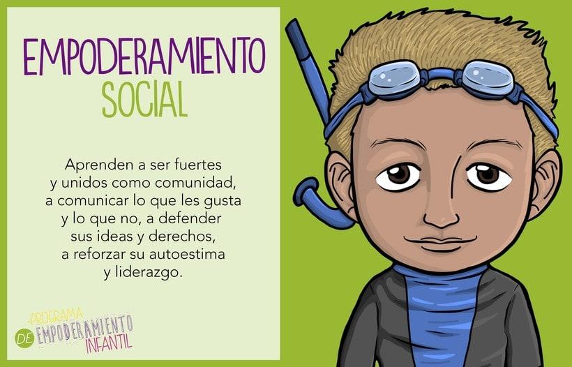 Programa de Empoderamiento Infantil / Diseño para sitio web Programa #PazAporte Guerrero 5