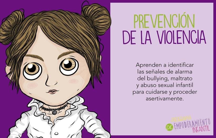 Programa de Empoderamiento Infantil / Diseño para sitio web Programa #PazAporte Guerrero 2