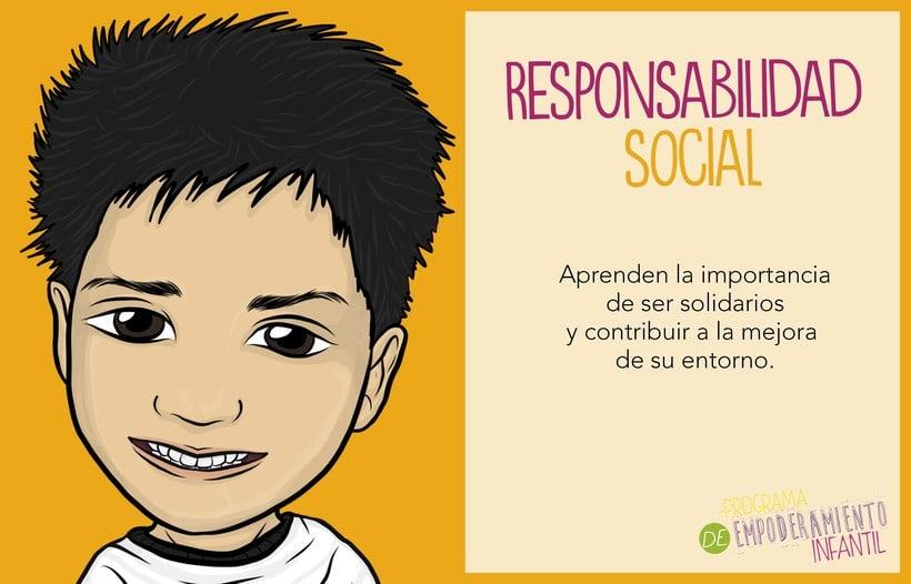 Programa de Empoderamiento Infantil / Diseño para sitio web Programa #PazAporte Guerrero 4
