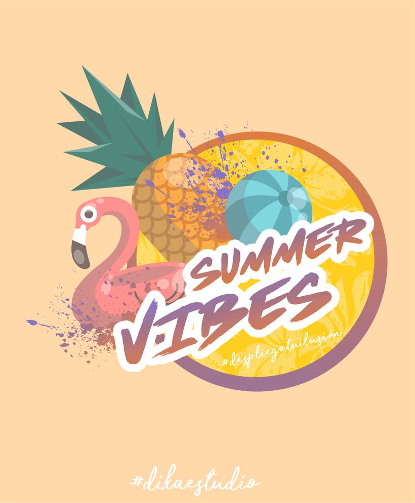 MERCHANDASING DIKA estudio #despliegatuilusión #summervibes 6