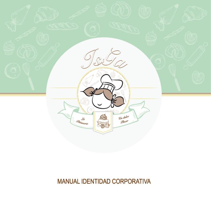 Imagen corporativa - ISGA BACKERY - Manual de imagen corporativa -1