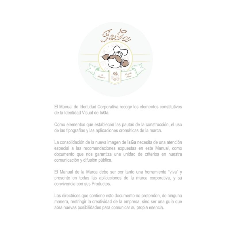 Imagen corporativa - ISGA BACKERY - Manual de imagen corporativa 1