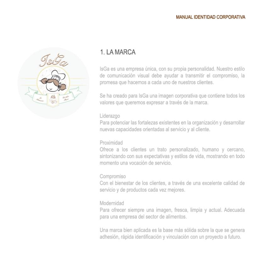 Imagen corporativa - ISGA BACKERY - Manual de imagen corporativa 5