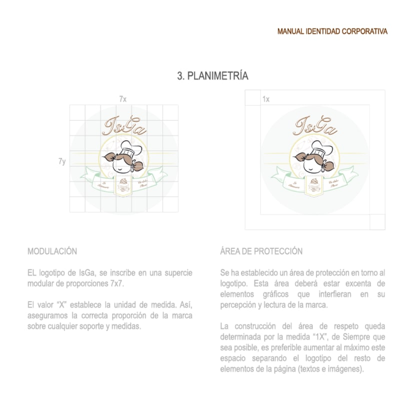 Imagen corporativa - ISGA BACKERY - Manual de imagen corporativa 9