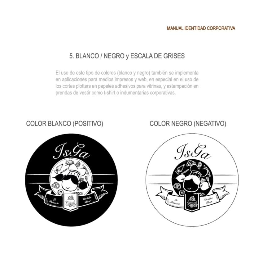 Imagen corporativa - ISGA BACKERY - Manual de imagen corporativa 13