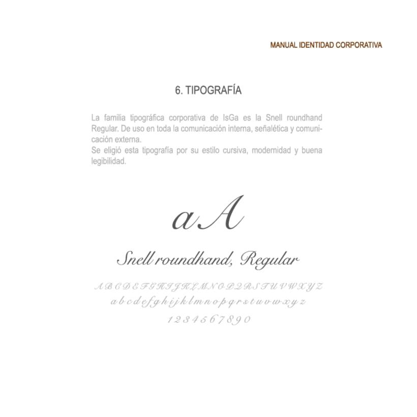 Imagen corporativa - ISGA BACKERY - Manual de imagen corporativa 17