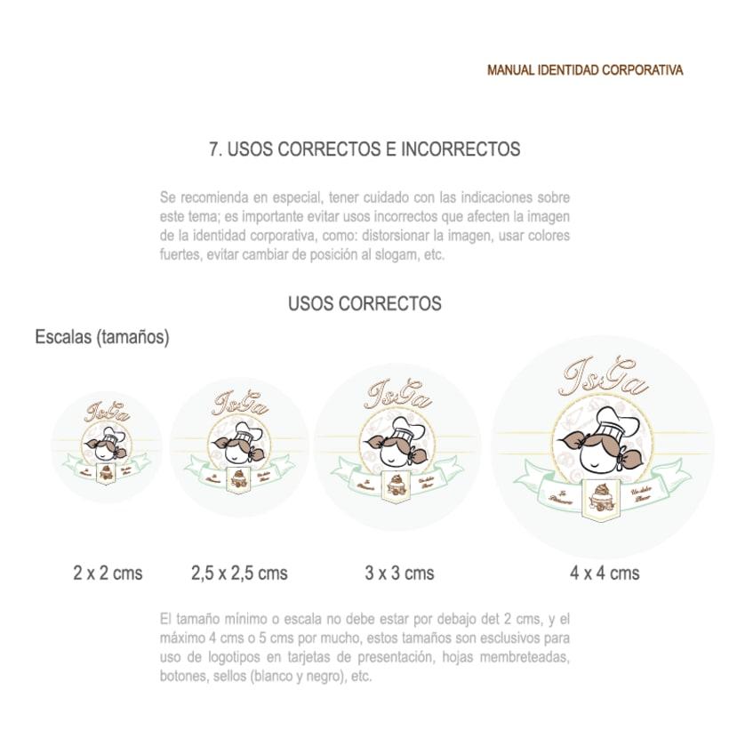 Imagen corporativa - ISGA BACKERY - Manual de imagen corporativa 19