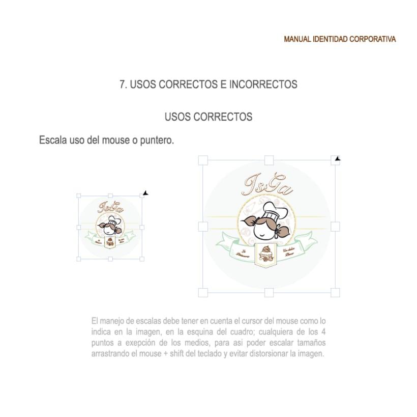 Imagen corporativa - ISGA BACKERY - Manual de imagen corporativa 21