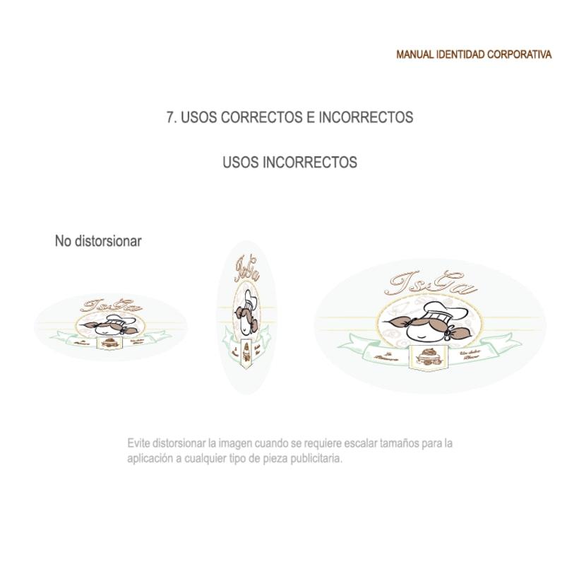 Imagen corporativa - ISGA BACKERY - Manual de imagen corporativa 25