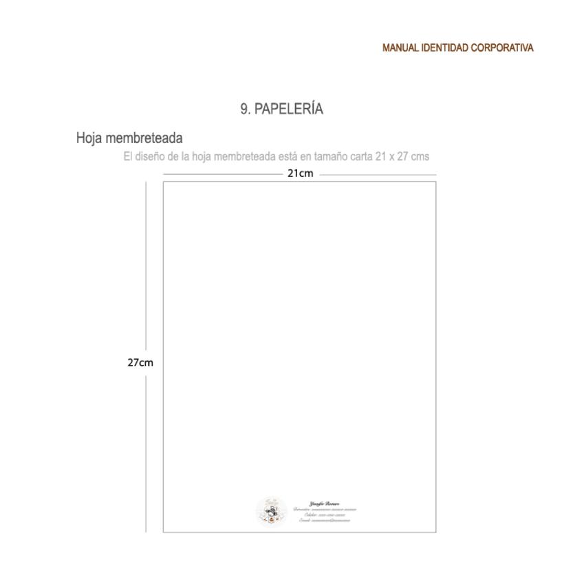 Imagen corporativa - ISGA BACKERY - Manual de imagen corporativa 31