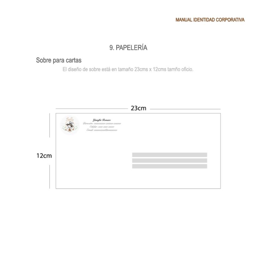 Imagen corporativa - ISGA BACKERY - Manual de imagen corporativa 35