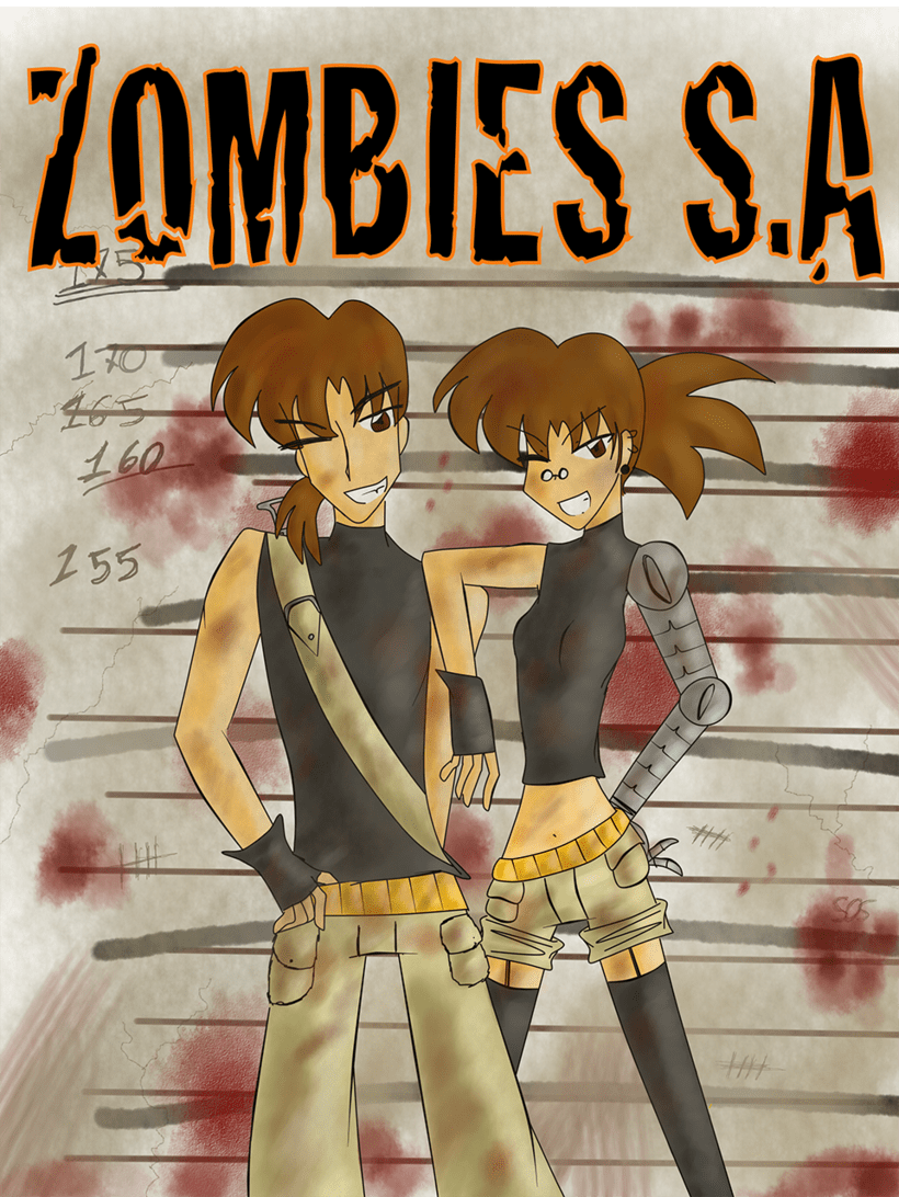 Zombies S.A (Original comic) (Pages with no order in particular) -1