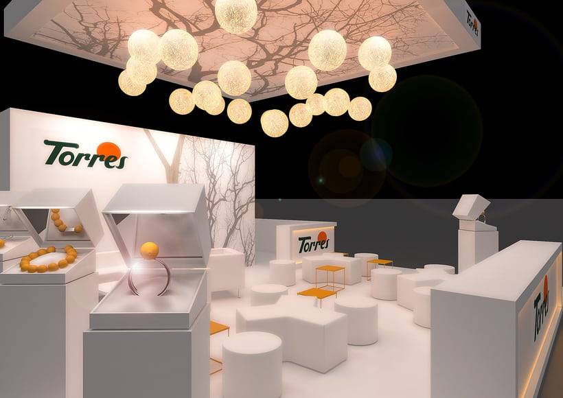 Stands-Temporary Architecture. Design and 3D Visualization for Servis Complet 12