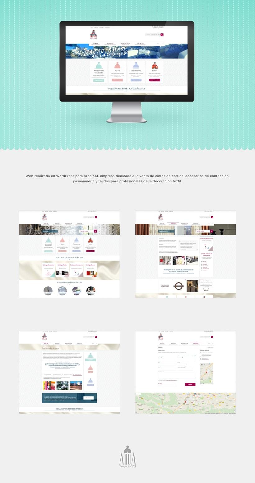 Web para Aroa XXI (2014) -1