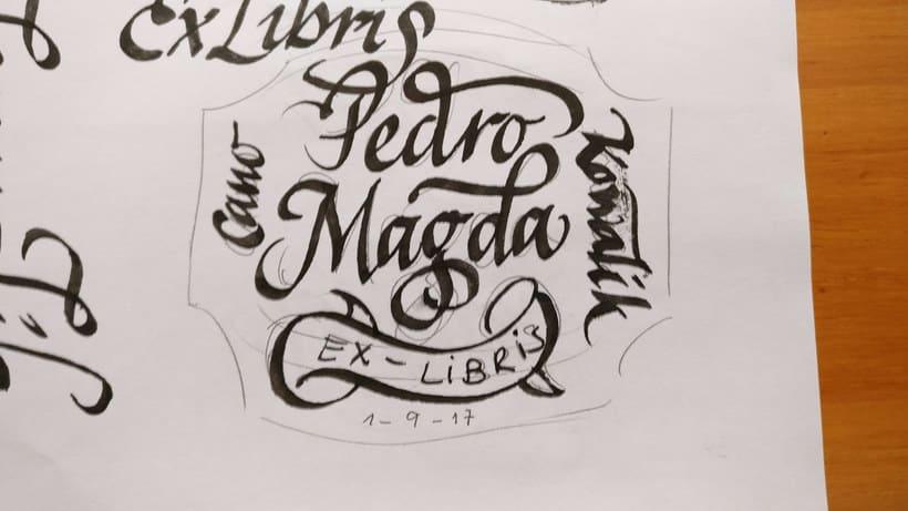 Un Ex libris caligráfico, el regalo personalizado perfecto 3
