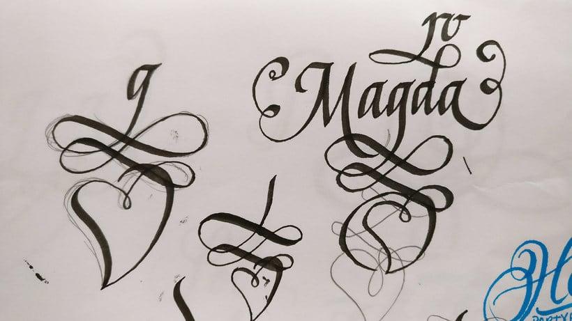Un Ex libris caligráfico, el regalo personalizado perfecto 5