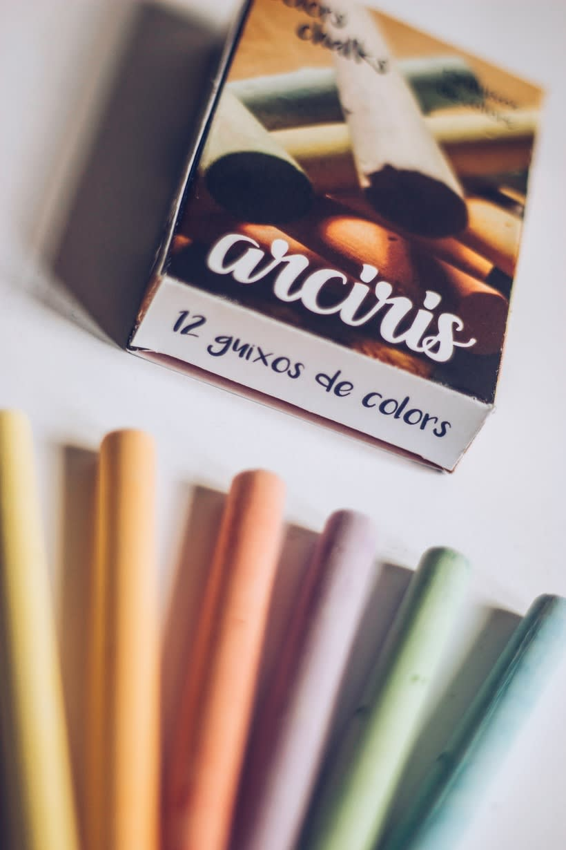 ARCIRIS, chalks de colors  3