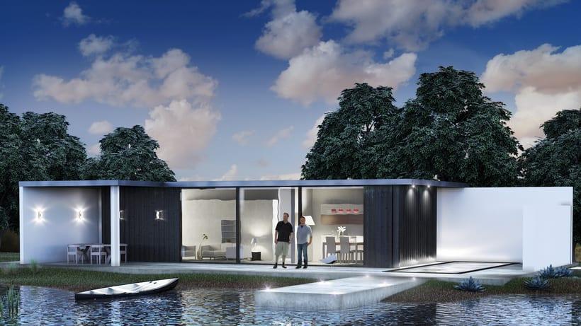 Casa en el lago -1