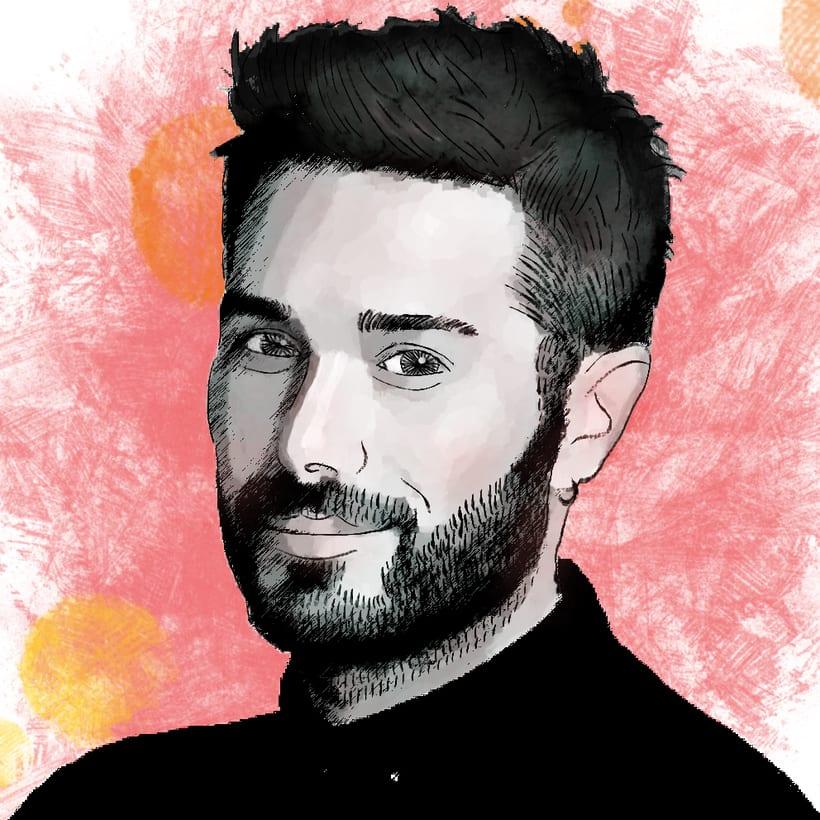 Mi Proyecto del curso: Retrato ilustrado con Photoshop -1