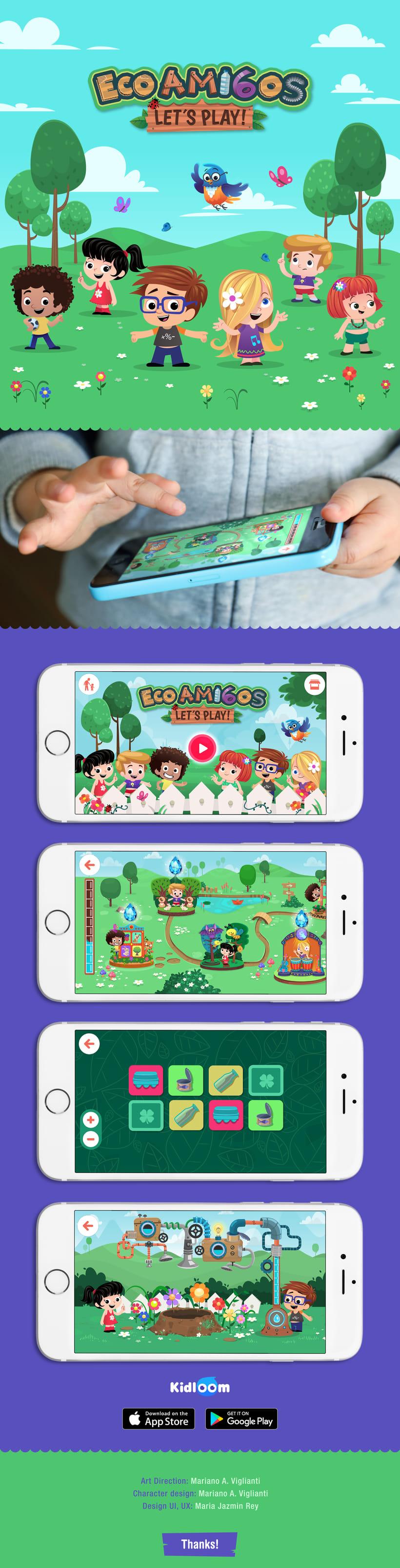 Ecoamigos let's play App -1