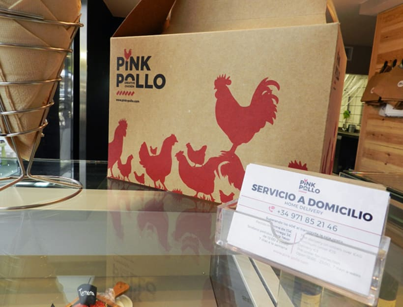 Pink Pollo, Creative Chicken 8