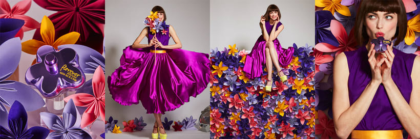 Spot publicitario Crazy Florever, Agatha Ruiz de la Prada 1