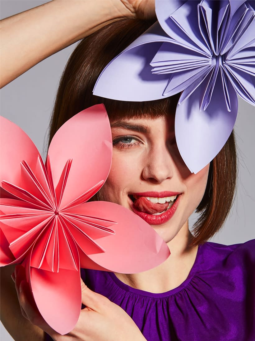 Spot publicitario Crazy Florever, Agatha Ruiz de la Prada 3