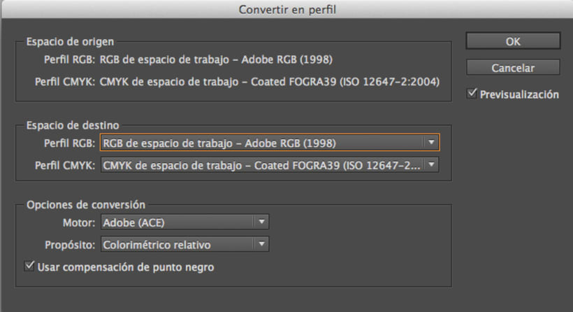 Error de color al exportar de Indesign a pdf interactivo 1