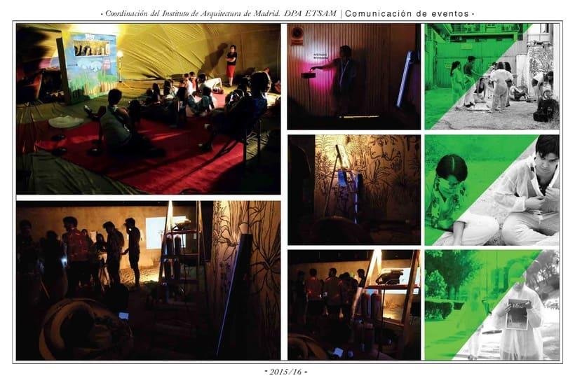 Comunicación web:      ETSAM, Carlos III y Feria del Libro de Madrid 1