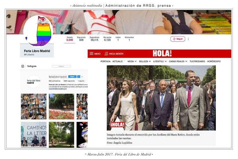 Comunicación web:      ETSAM, Carlos III y Feria del Libro de Madrid 3