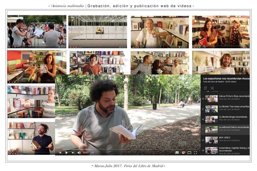 Comunicación web:      ETSAM, Carlos III y Feria del Libro de Madrid 4