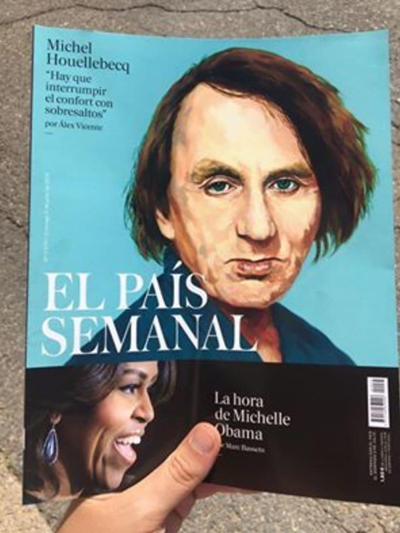 El País Semanal Michel Houellebecq 1