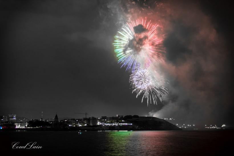 Semana Grande 2017 de Gijón, Asturias - Noche de los Fuegos -1