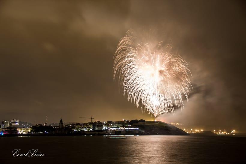 Semana Grande 2017 de Gijón, Asturias - Noche de los Fuegos 0
