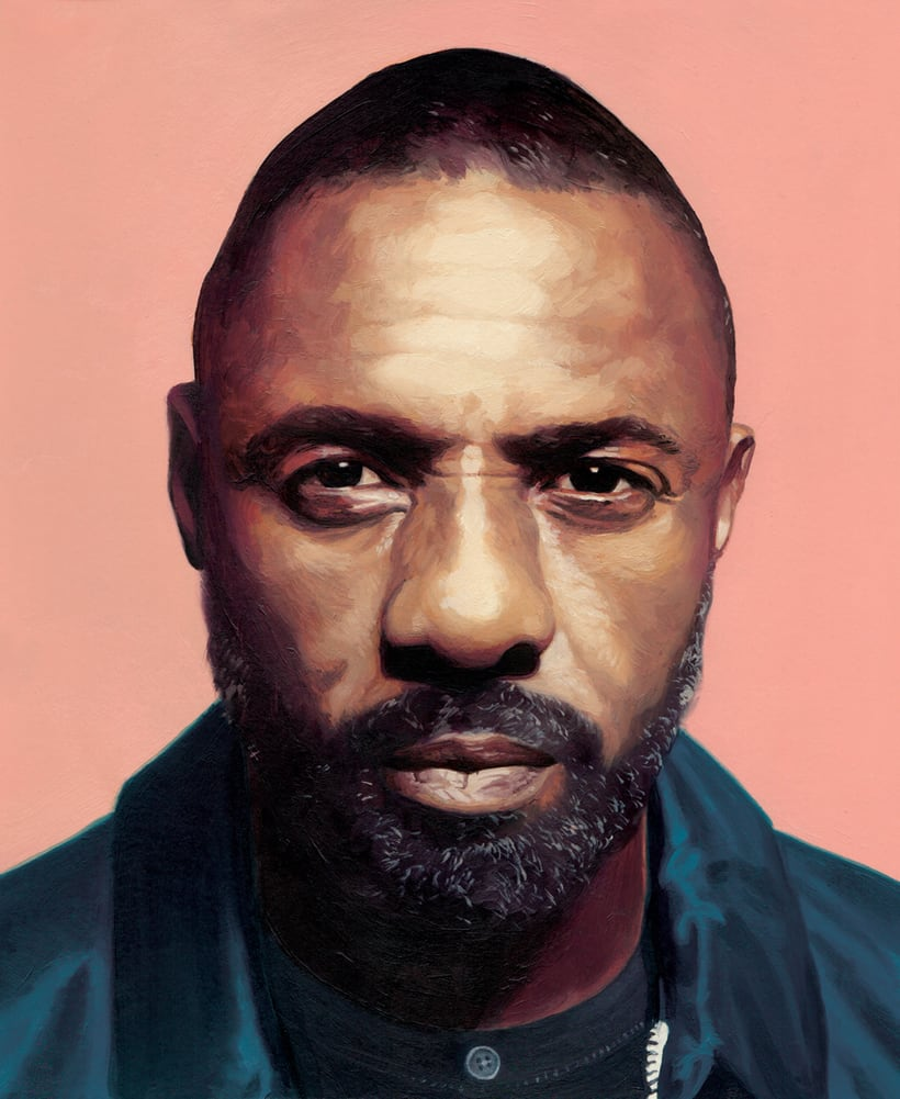 Idris Elba, Soho House Magazine 1