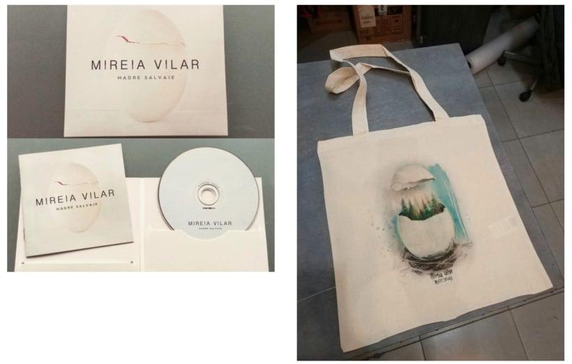 MADRE SALVAJE. Merchandising musical de Mireia Vilar 2