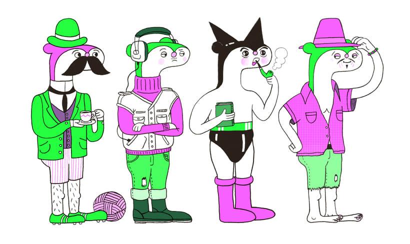 Ilustraciones para Revista Witolda 0