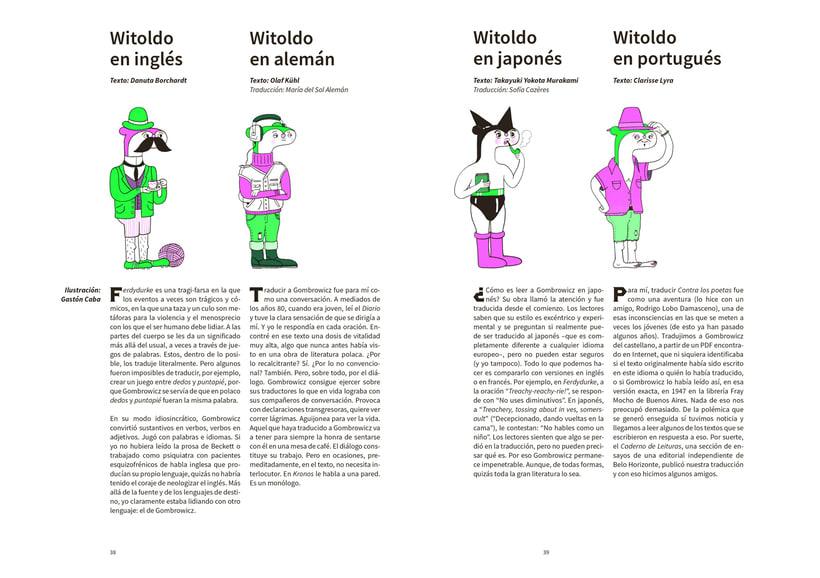 Ilustraciones para Revista Witolda 1
