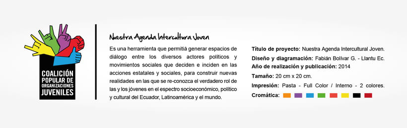 Desing Editorial- Youth Interculture - Agenda Joven. 0