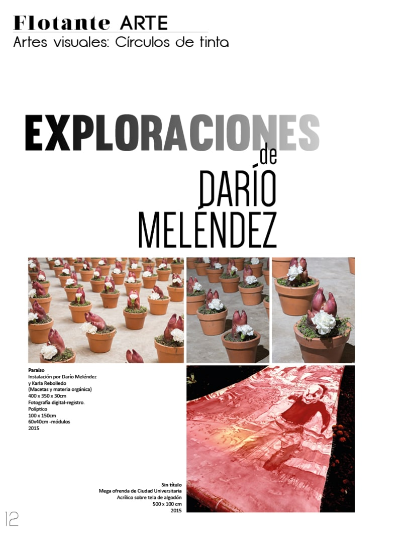 Flotante Mag / Diseño editorial / Diseñador: Luis Vargas Santa Cruz 0