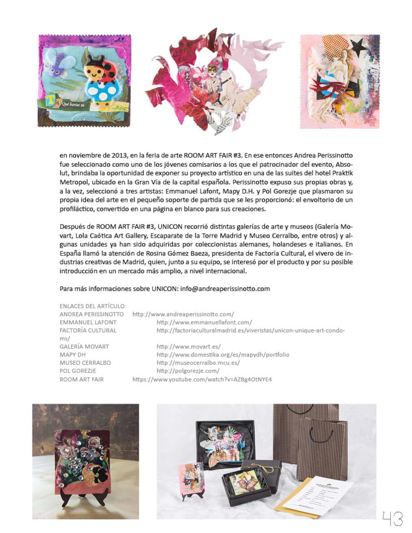 Flotante Mag / Diseño editorial / Diseñador: Luis Vargas Santa Cruz 7