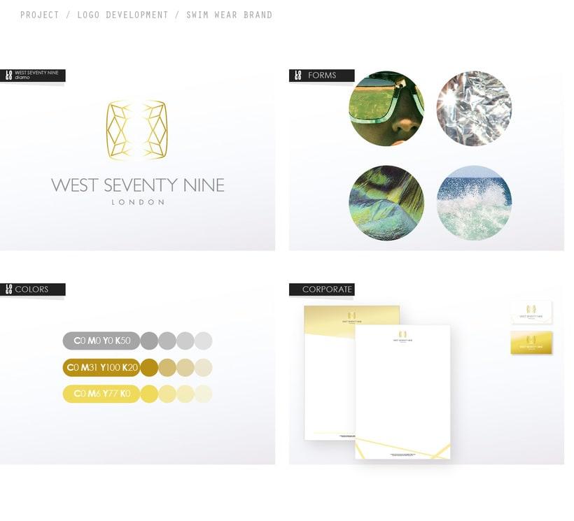 West Seventy Nine Logo &  Brand Identity 0