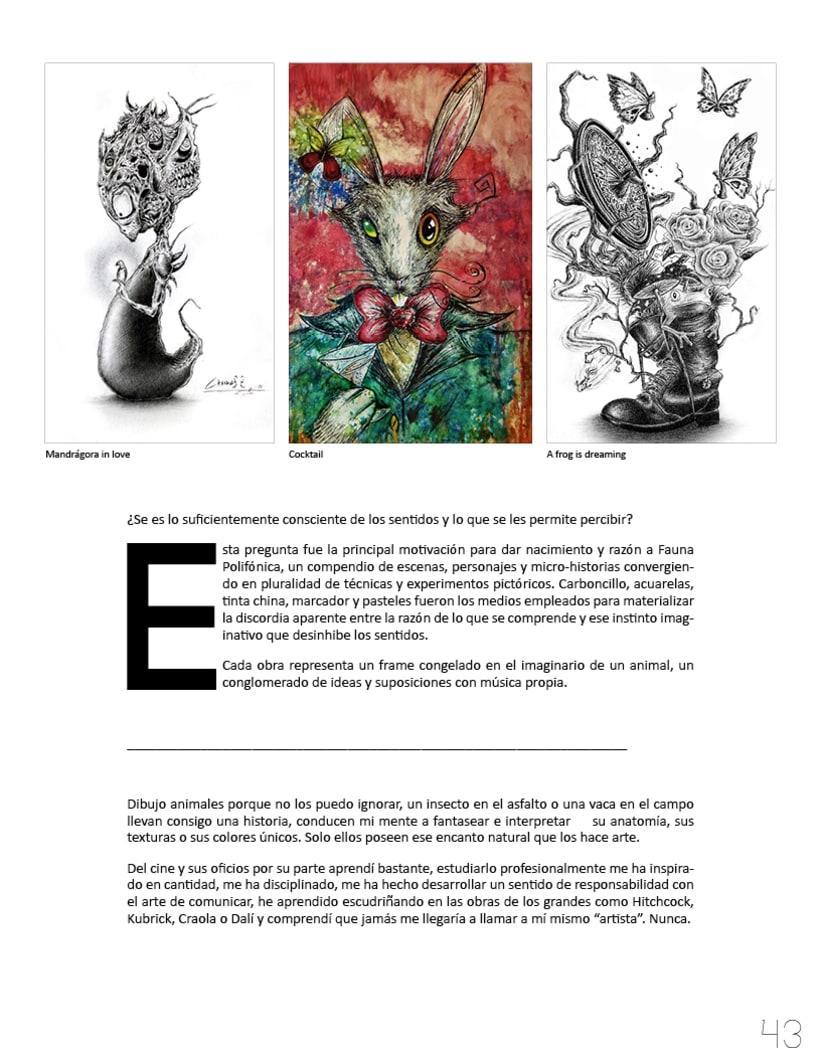 Flotante Mag / Diseño editorial / Diseñador: Luis Vargas Santa Cruz 1