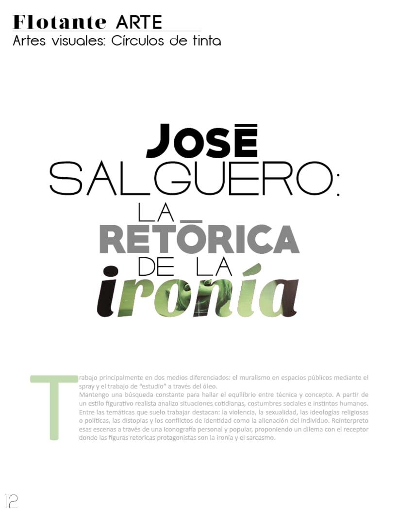 Flotante Mag / Diseño editorial / Diseñador: Luis Vargas Santa Cruz 6
