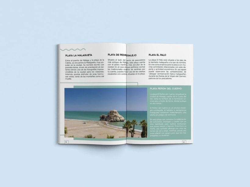 Diseño editorial Málaga 4 you 0