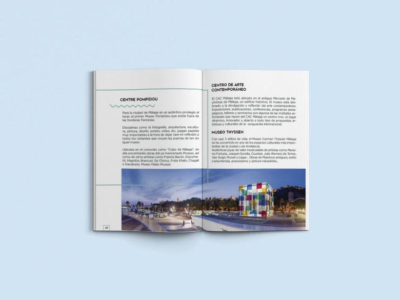 Diseño editorial Málaga 4 you 3